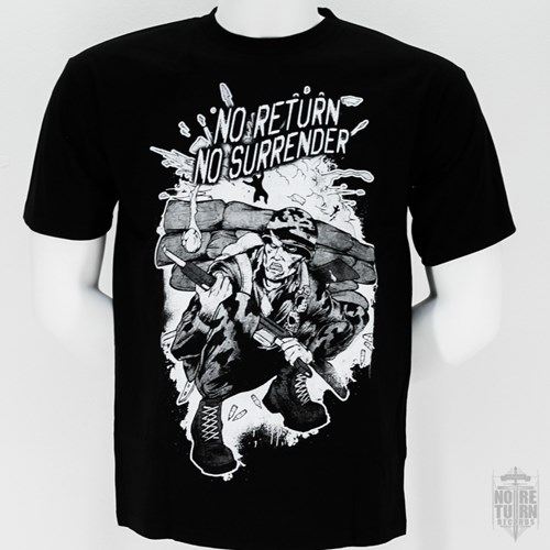 Picture of NO SURRENDER - SHIRT (schwarz)