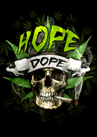 Bild von HOPE WITH DOPE  - STICKER
